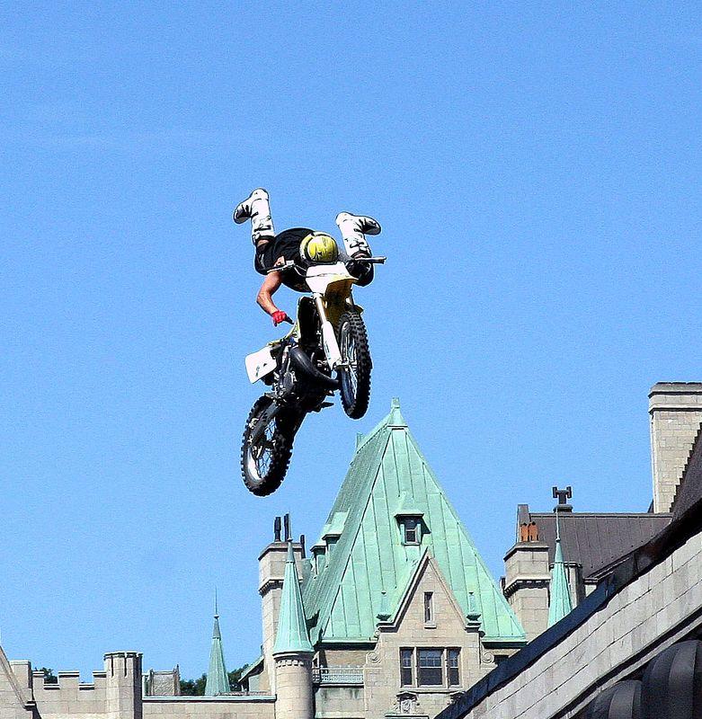 Motocycle jumps