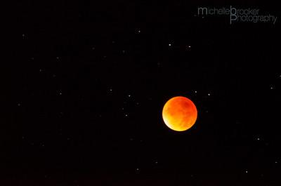 The Orange Moon...