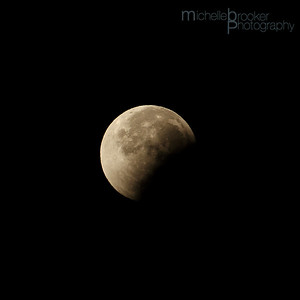The Eclipse moving away
