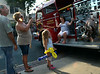 Classic fire apparatus is displayed along York Rd for the 22nd Annual Moonlight Memories Car Show in Hatboro presented by the greater Hatboro Chamber of Commerce  on Saturday July 26,2014. Photo by Mark C Psoras/The Reporter
