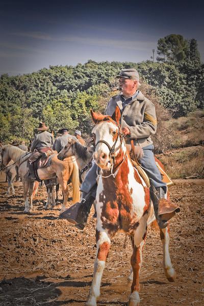 The Blue & The Gray<br /> A Civil War Reenactment and Encampment<br /> Tierra Rejada Ranch, Moorpark, CA<br /> November 7th, 2009