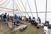 Food tent.