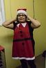 Moosonee Elders Gathering Centre Christmas Santa visit and Keewaytinok Native Legal Services consultation.