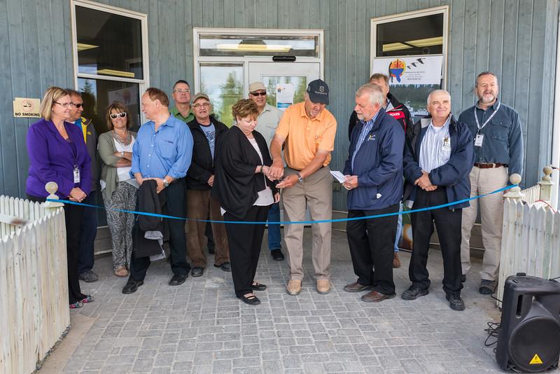 Moosonee Health Centre Reopening.