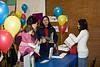 imagination library launch in moosonee, ontario-registration desk