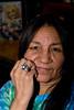 Rachel Chakasim wearing an enormous ring