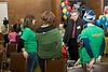 imagination library launch in moosonee, ontario-Charlie Angus speaking with Katimavik volunteers 2008 February 9th