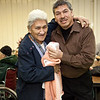 27th Annual General Meeting of the Moosonee Native Friendship Centre held 2009 November 19th. Ruby Moore, John Reuben.