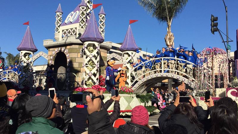 2016 Tournament of Roses Rose Parade - Disneyland Resort