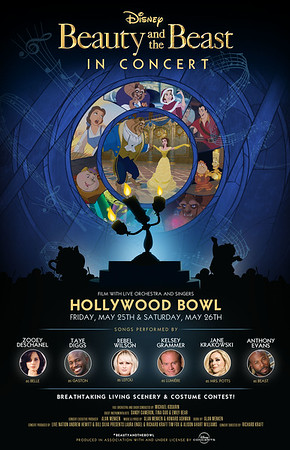 BEAUTY AND THE BEAST IN CONCERT brings star-power for 2-day-only Hollywood Bowl event