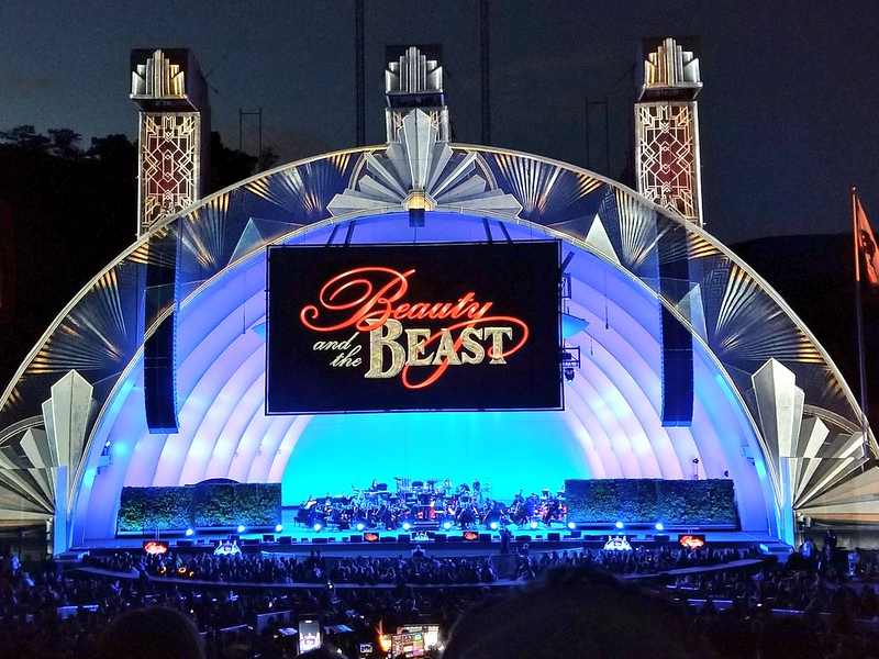 REVIEW: 'Beauty and the Beast in Concert' at the Hollywood Bowl was magic under the stars