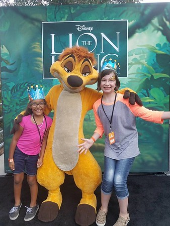 Under the stars at the Greek Theatre for 'The Lion King Sing-Along'