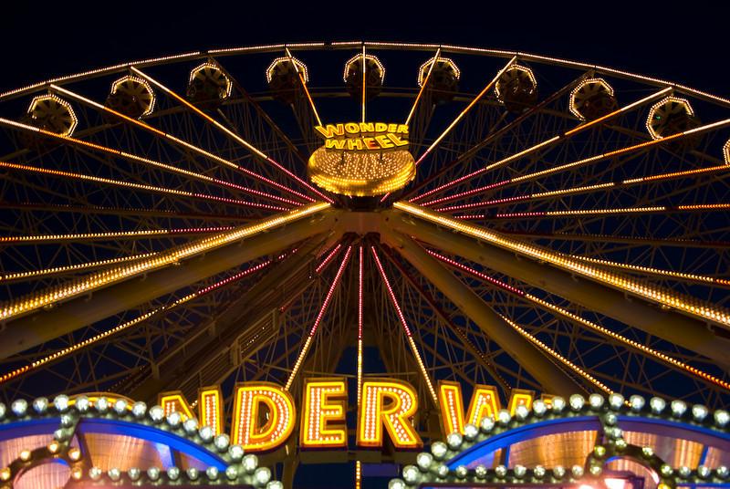 Ferris wheel: Perspective 1