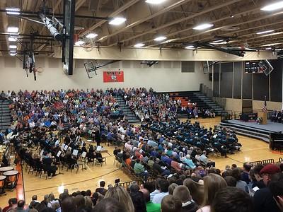 Morris Area High School Graduation 2017