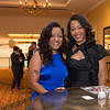 Pageant Ferriabough, (from Bru Inc. International) and Courtney Anjanae -both from Tulsa