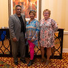 Jessie McMullen, Beverly McMullen(True Sky Credit Union), Rena Ligon (Citizens of Pottawatomie)