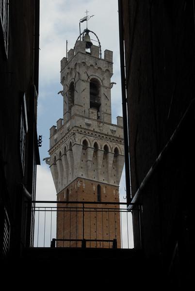 Campanile in Siena