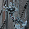Light fixture in Siena for palio