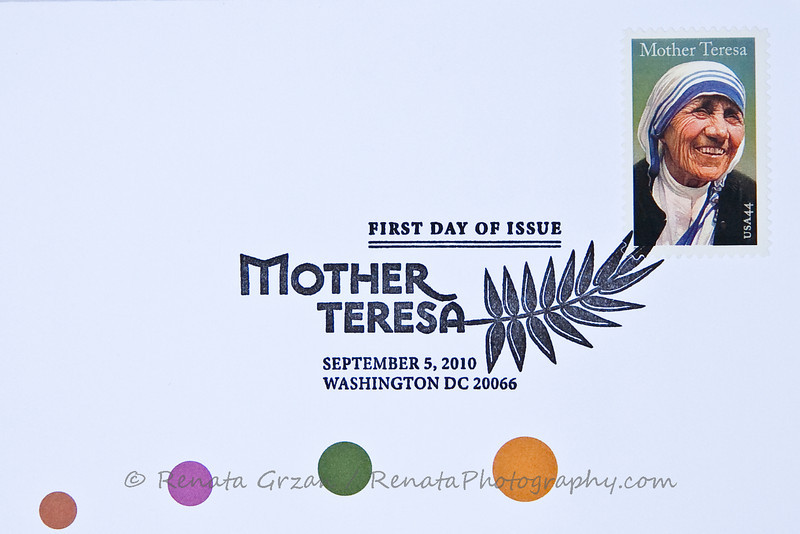 20- Mother Teresa Stamp - Renata Grzan