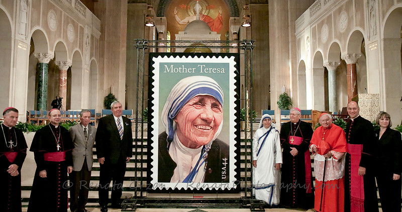 17- Mother Teresa Stamp - Renata Grzan
