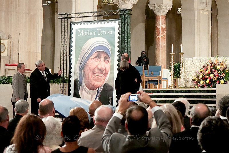 13- Mother Teresa Stamp - Renata Grzan