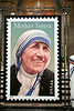 Mother Teresa Stamp Dedication :