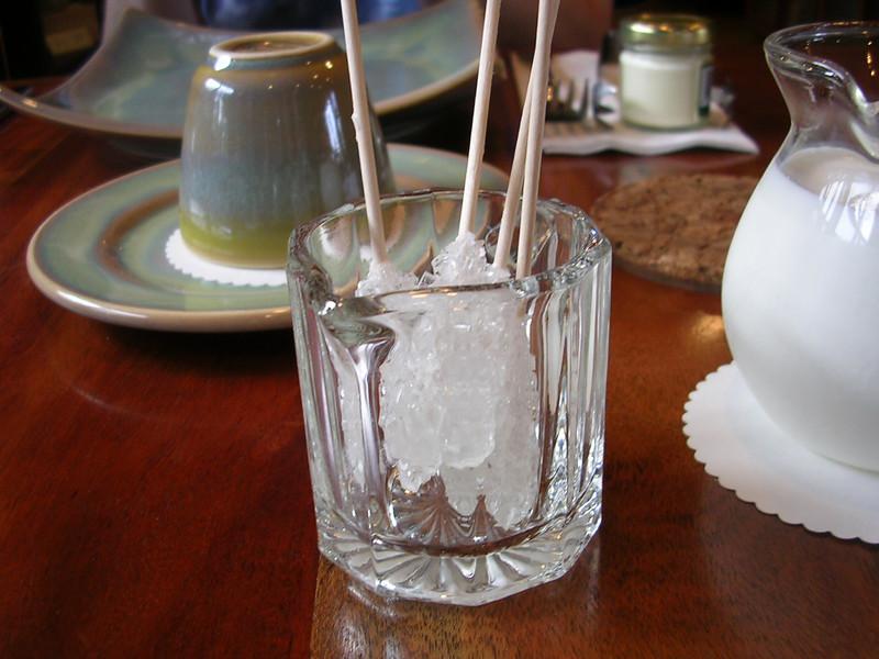 Sugar for our tea