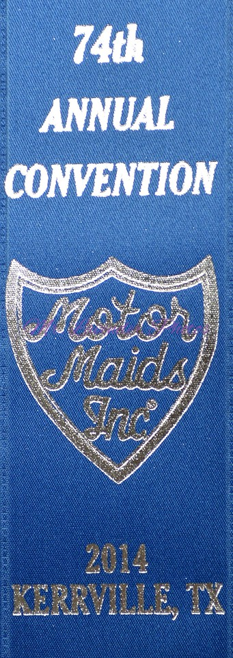 Motor Maids 74th Annual Convention 2014 Kerrville Texas
