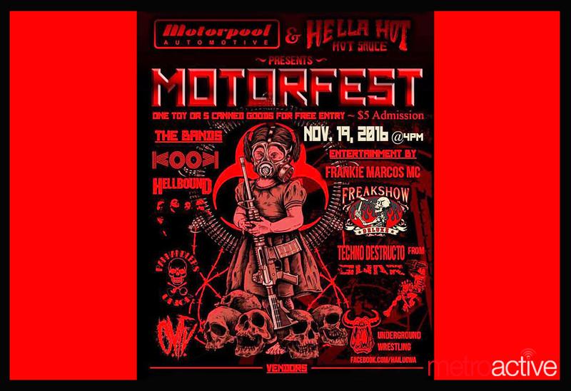 Motorpool & Hella Hella Hot Sauce present: 1st Annual Motorfest