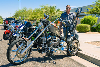 "Crusty""s Harley, Phoenix AZ (29 May 2015)"