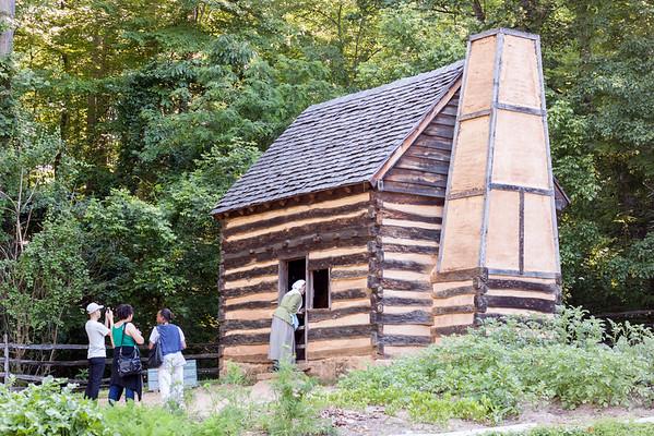 Slave Cabin at Mount Vernon