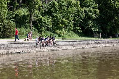 Potomac River Near the Mount Vernon Dock