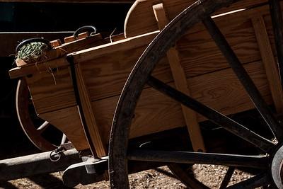 Wagons at Mount Vernon