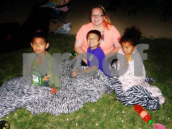 Eadon, Kaleb, Kelsey, and Reina.