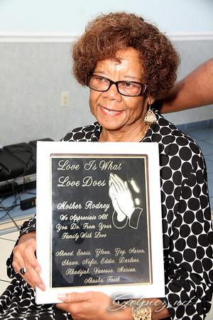 Mrs Dorothy's Appreciation Ceremony 9/17/16