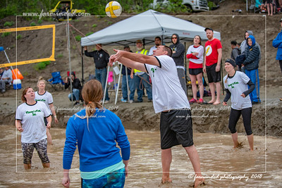 Mud Volleyball - 2018