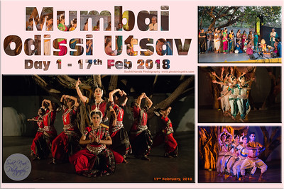 Mumbai Odissi Utsav  Day 1 - 17th Feb 2018 Suchit Nanda Photography www.photonicyatra.com