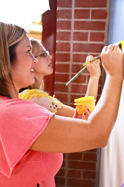 Mural Painting, Cool! Salsa Dancing, Hot!