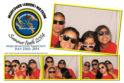 Muscogee Creek Nation Youth 2014