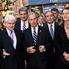 Mayor Mike Bloomberg, Scott Springer, Manhattan Borough President