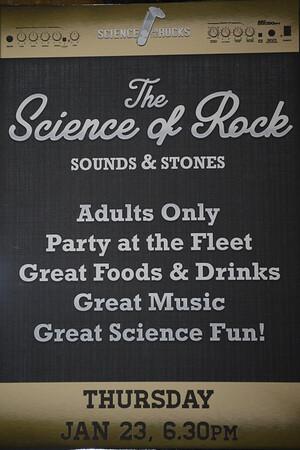 Rock in the Park -@ Reuben H. Fleet Science Center - 01/17/2014