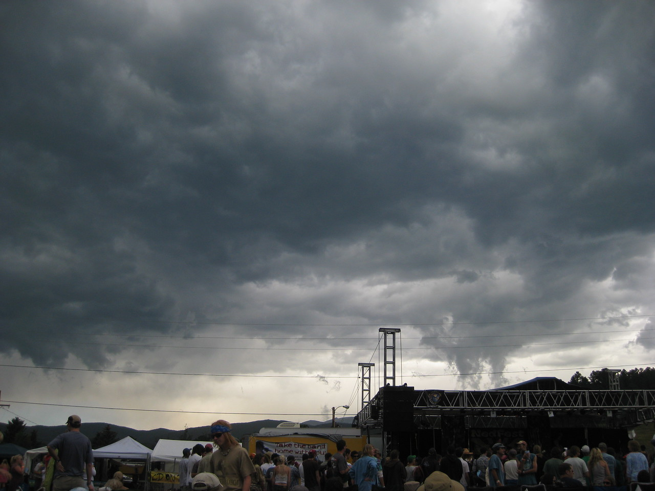 Nedfest 2008 Saturday<br /> <br /> Sorry y'all this one is going to hit us.