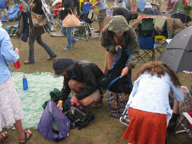 Nedfest 2008 Saturday<br /> <br /> Hey, its raining!