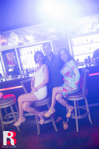 R3 Social Lounge DJ Purple Vibe and KENKD