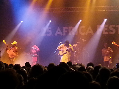 Habib Koité in the Mali night of Africa Festival.
