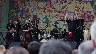 Red Hot Chilli Pipers auf dem Bardentreffen
