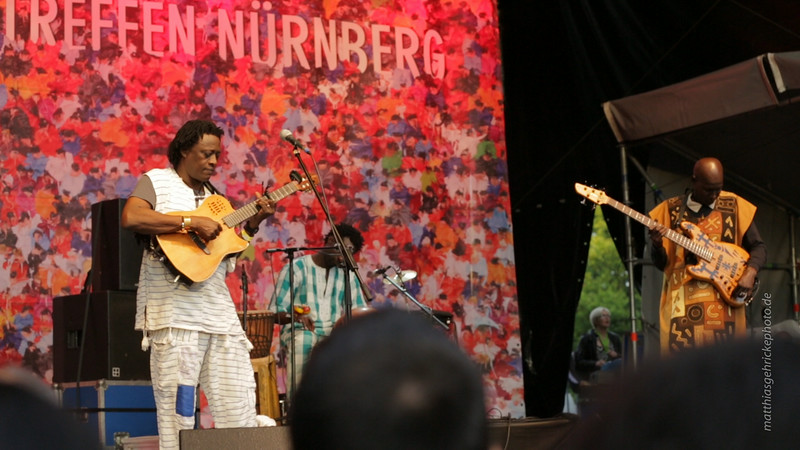 Habib Koité & Band, Nürnberger Bardentreffen, 2.8.2014