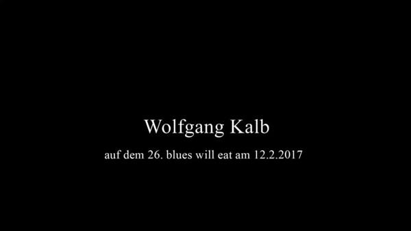 Wolfgang Kalb auf dem 26. blues will eat am 12.2.2017