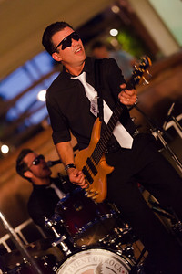 The Department of Rock, at Blackhawk Plaza, Danville, CA - 9-14-2012.