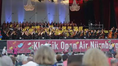Klassik Open Air - Nürnberg 9. August 2014, Nürnberger Symphoniker, Hans-Sachs-Chor , Simone Kernes (Sopran)
